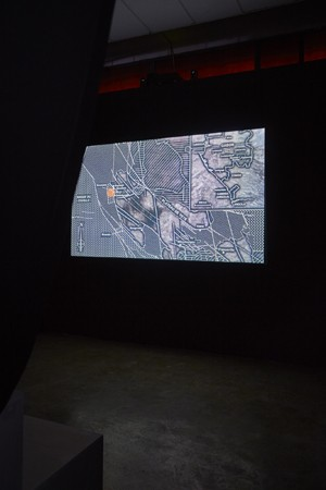 *Ex-Ante* October 27 - December 22  Susan Schuppli, 'Trace Evidence' (2016) HD Video, colour with 4-channel sound, 53:00  Photograph by Sam Hartnett