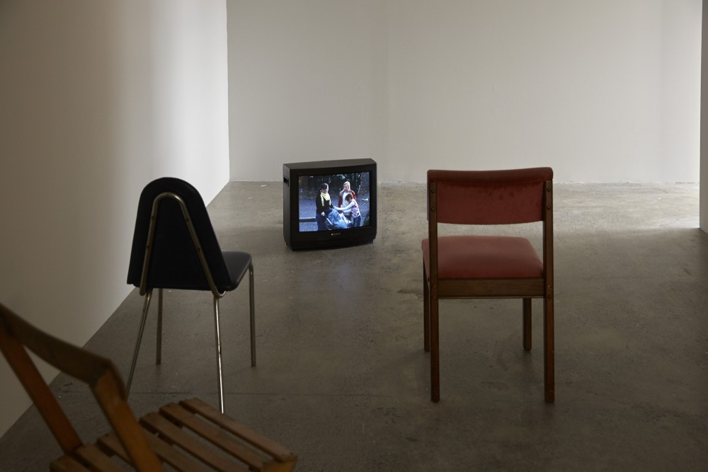 *Ex-Ante* October 27 - December 22  Seamus Harahan, 'Cold Open' (2014), DVPal, sound, 13:28  Photograph by Sam Hartnett