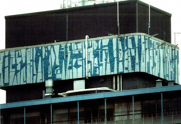 Guy Ngan, [title unknown], Bledisloe State Building Mural, 1956