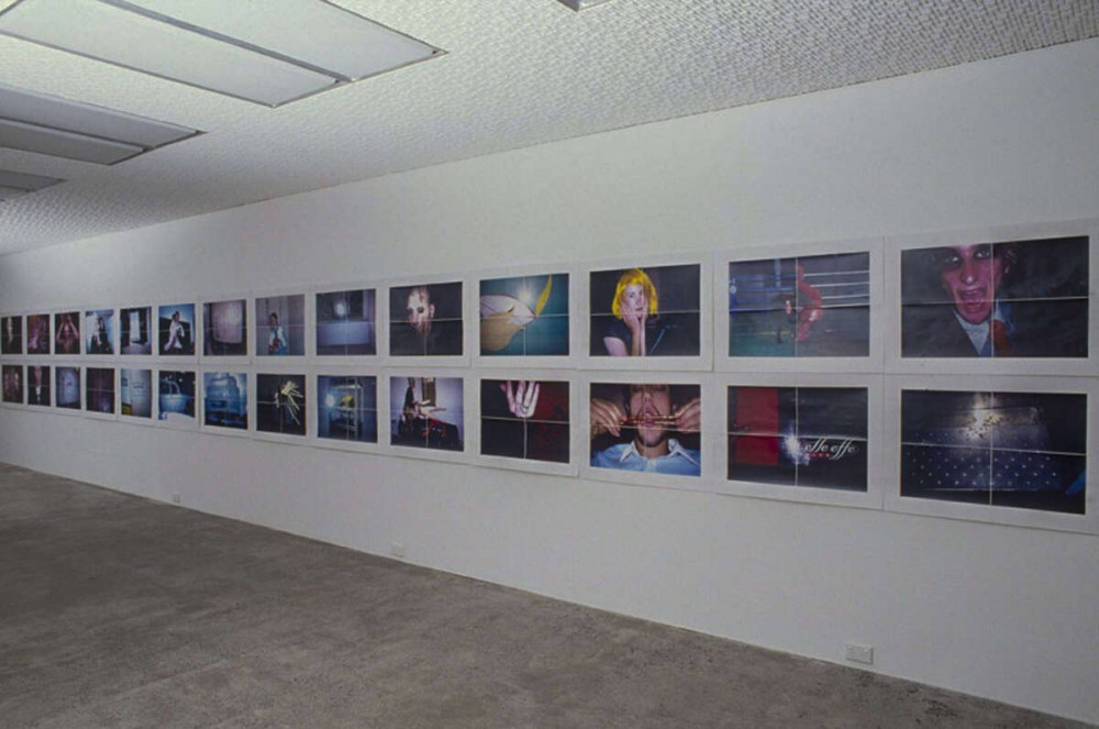 From the archive:   Installation view of Ann Shelton: *Redeye* (Book launch and exhibition), 26 — 29 June 1997, subsequently toured to The Manawatu Art Gallery, Te Papa-i-Oea Palmerston North, The Art Annex, Ōtautahi Christchurch, and Dunedin Public Art Gallery, Ōtepoti Dunedin, The Dowse Art Gallery, Te Awakairangi Lower Hutt, and was exhibited as part of Fotofeis at The Arches, Glasgow, Scotland.