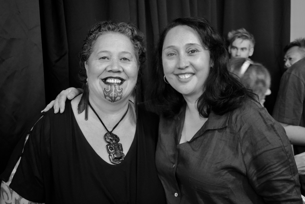 Tui Matira Ranapiri-Ransfield and Maree Sheehan, *Ōtairongo* Opening, March 2020.